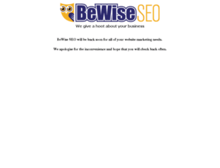 bewiseseo.com screenshot