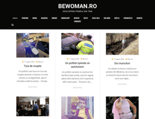 bewoman.ro screenshot