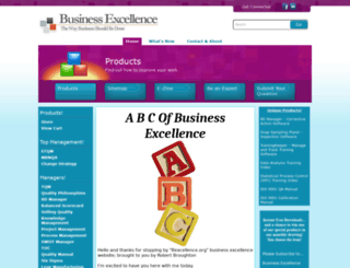 bexcellence.org screenshot