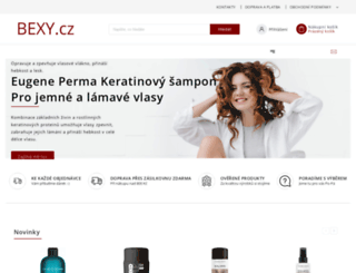 bexy.cz screenshot