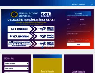 beykent.edu.tr screenshot