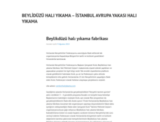 beylikduzuhaliyikamasi.wordpress.com screenshot