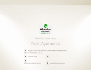 beylikduzutoner.com screenshot