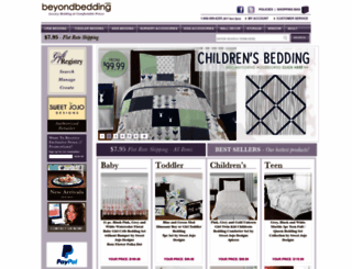 beyond-bedding.com screenshot