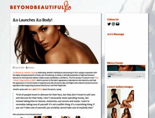 beyondbeautifuljlo.com screenshot