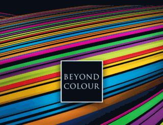 beyondcolour.com screenshot