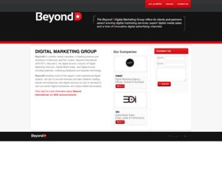 beyondd.com.au screenshot