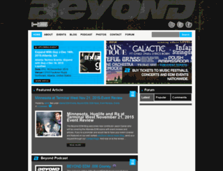 beyondedm.com screenshot