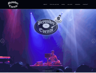beyondermusic.com screenshot