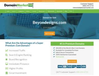 beyondesigns.com screenshot