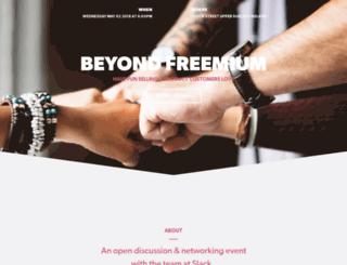 beyondfreemiumdublin.splashthat.com screenshot