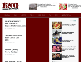 beyondhollywood.com screenshot