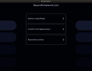 beyondhollywood.com screenshot