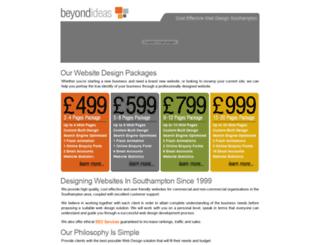 beyondideas.co.uk screenshot