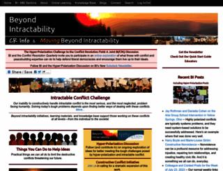 beyondintractability.org screenshot