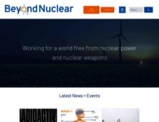 beyondnuclear.org screenshot