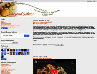 beyondsalmon.blogspot.com screenshot