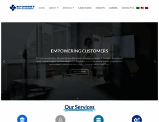 beyondsoft.com screenshot
