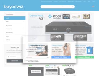 beyonwiz.com.au screenshot