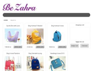 bezahra.com screenshot