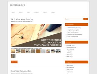 bezcanta.info screenshot