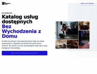 bezwychodzeniazdomu.pl screenshot