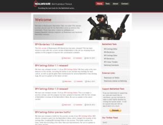 bf3.realmware.co.uk screenshot