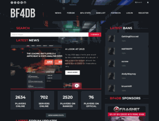 bf4db.com screenshot
