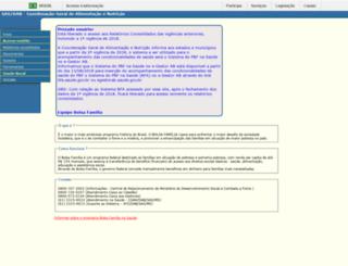 bfa.datasus.gov.br screenshot