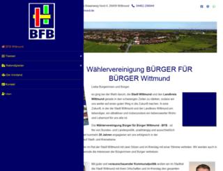 bfb-wittmund.de screenshot