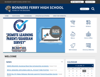 bfhs-bcsd-id.schoolloop.com screenshot