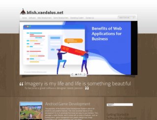 bfish.xaedalus.net screenshot
