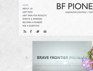 bfpioneers.com screenshot