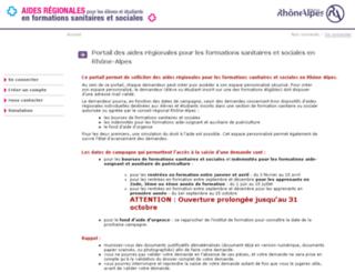 bfss.rhonealpes.fr screenshot