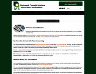 bfswebsite.com screenshot