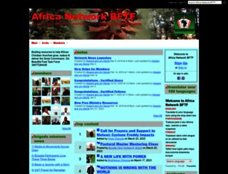 bftfafricanetwork.ning.com screenshot