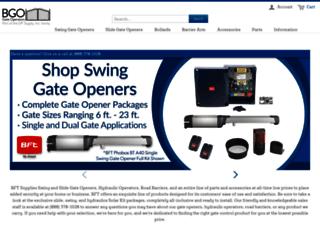 bftgateopeners.com screenshot