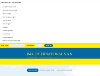 bg-international.fr screenshot