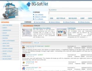bg-soft.net screenshot