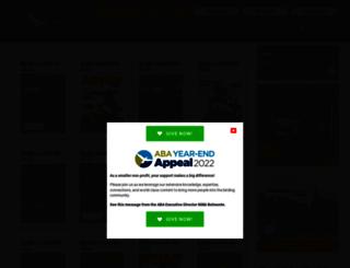 bg.aba.org screenshot