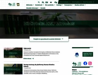 bg.awf.wroc.pl screenshot