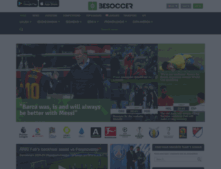 bg.besoccer.com screenshot