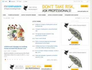 bg.fxcomparison.com screenshot