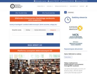 bg.uni.opole.pl screenshot
