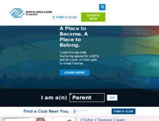 bgca.convio.net screenshot