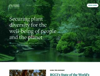 bgci.org screenshot