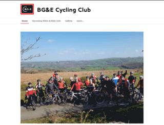 bgecyclingclub.co.uk screenshot