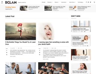 bglam.com screenshot