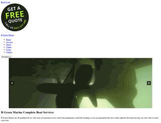 bgreenmarine.com.au screenshot