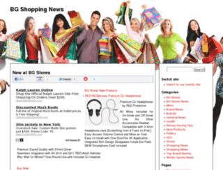 bgshopping.co.uk screenshot